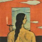 有元利夫「ヰタ・セクスアリス」1980 銅版画 17.5×14.7㎝