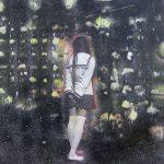 小林美佐子「イーハトーブの鉱石館」2017年 銅版画、リトグラフ、手彩色 23×16cm パネル貼り