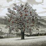 山本桂右「林檎の木」