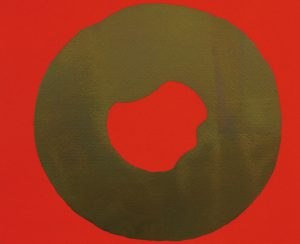 吉原治良「円」1971年 シルクスクリーン 22×27.5cm