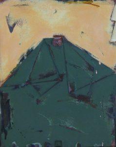 野田裕示「work 971」1995年 アクリル、キャンバス 6号