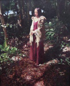 伊藤尚尋「森の向こうに海が見える」油彩 100号