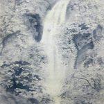 「瀧」1949(昭和24) 54.5×38cm