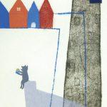 樋勝朋巳「blue-9」2018年 エッチング、アクアチント、ドライポイント 39×30cm