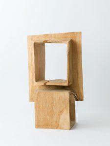 「あっちこっち」シェルフ/カシ/H72cm