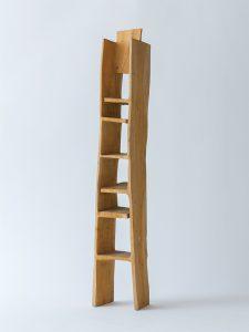 「お塔さん」シェルフ/ニガキ/H120cm