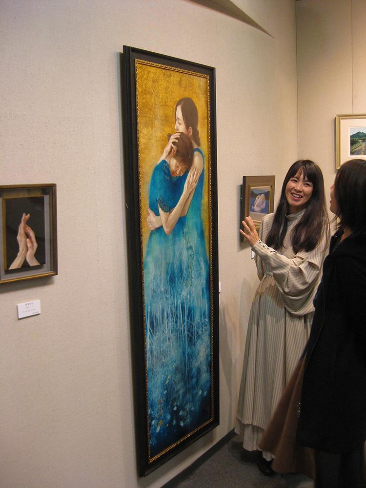 写実絵画の5人展~開催中です。