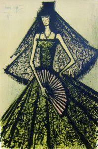 「カルメン」1967年 リトグラフ 99×65cm