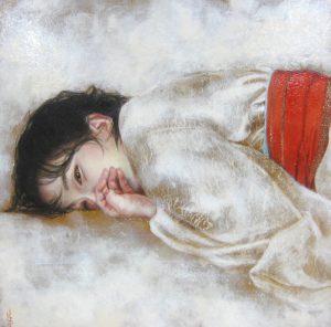 阪東佳代「瞬き(またたき)」